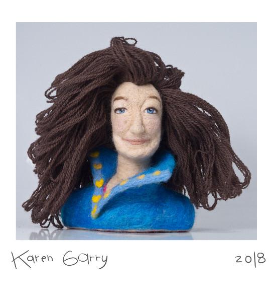 Karen Garry Needled Felt